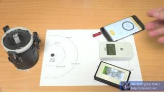 3종 방사능 측정기 비교 QSAFE RADEX SMAR…