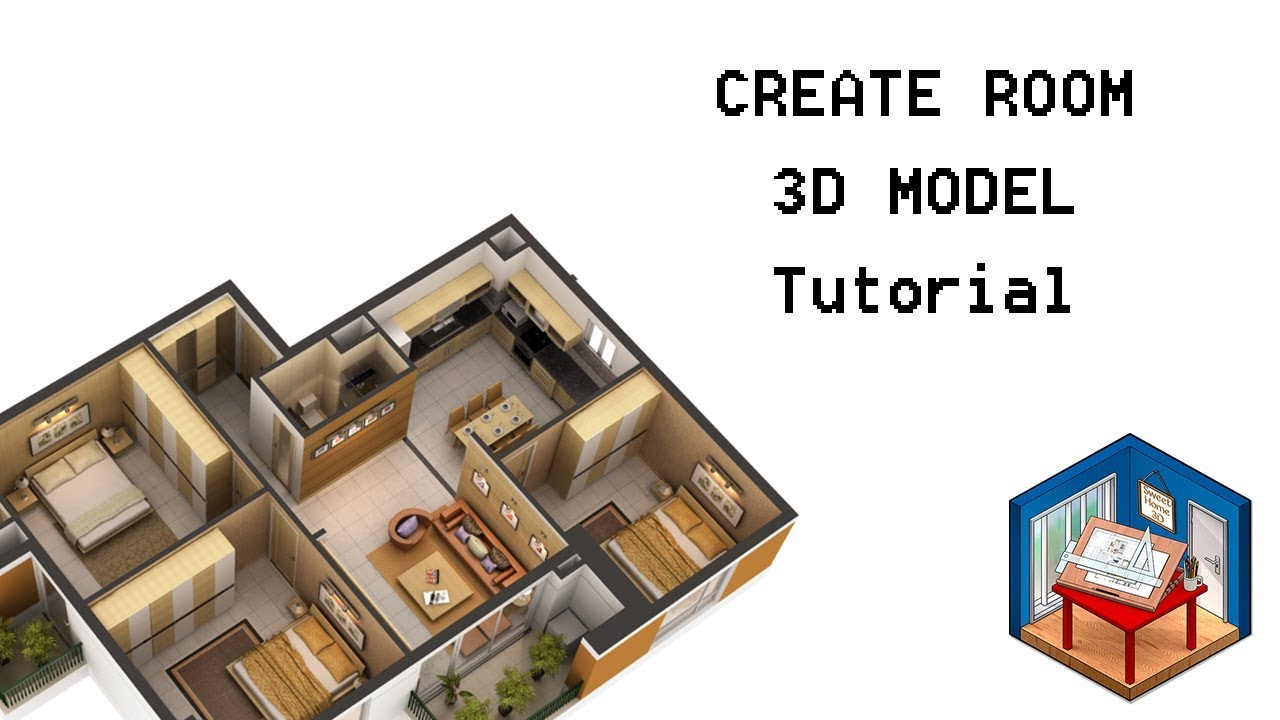 How To Create 3D Home Design, Interior Design, Floor Plan Designer    Tutorial #3