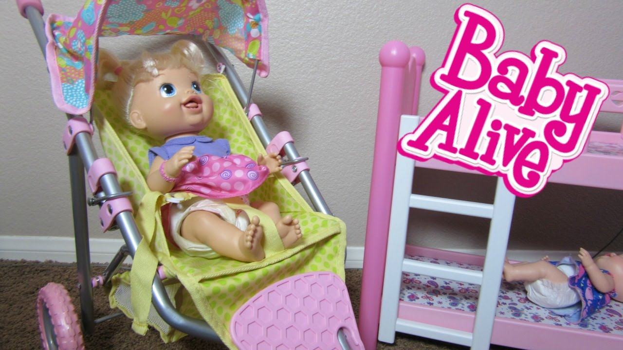 Toddler Doll Toys R Us Baby Alive Baby Doll Stroller With Babys New Teeth And