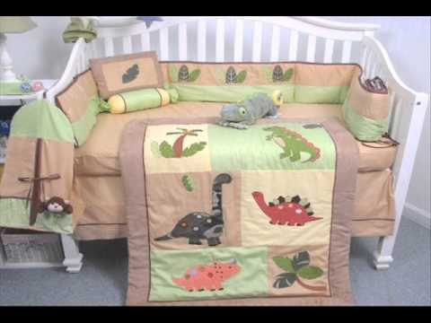 SoHo Dinosaur Story Baby Crib Nursery Bedding Set 13 Pcs ; Dinosaur Crib Bedding