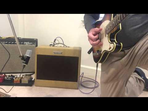 Fender Deluxe 5B3 guitar amplifier- sound sample.  For sale!