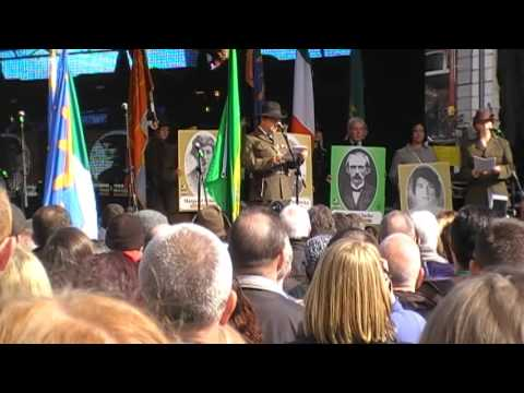Reclaim the vision 1916  @ the GPO Dublin 2016