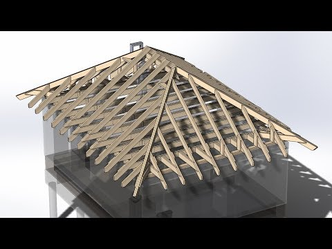 Как построить крышу вальмовую своими руками пошаговая инструкция с фото