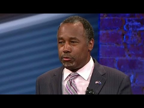 Ben Carson on Christian values and role of government