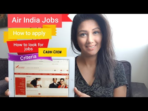 Air India Jobs & How to apply Mamta Sachdeva Cabin Crew