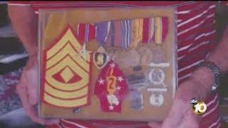 Medals, memorabilia taken from local World War II veteran