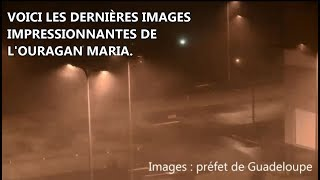 Ouragan Maria en Guadeloupe : des images impressionnantes