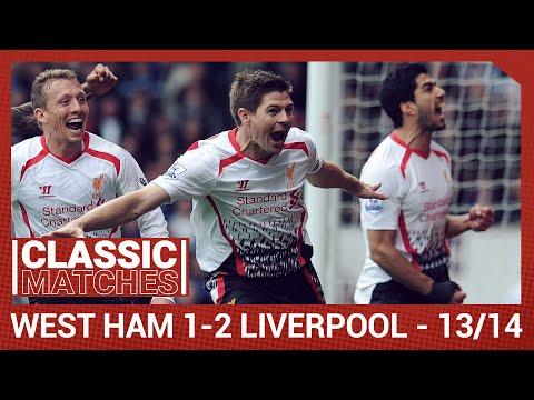 Premier League Classic: West Ham 1-2 Liverpool | Gerrard Spot-on Against Hammers