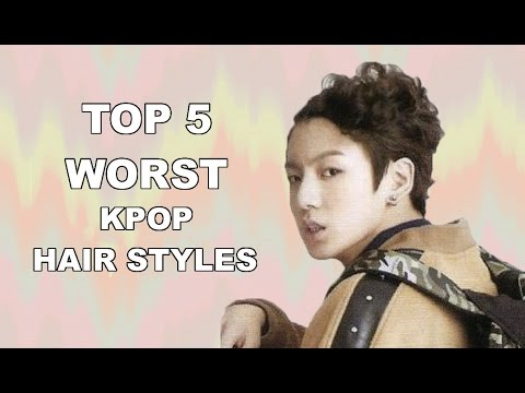 Top 5 Worst Kpop Hairstyles