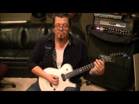 FREYA - SWORD - Guitar Lesson by Mike Gross - How to Play - Tutorial