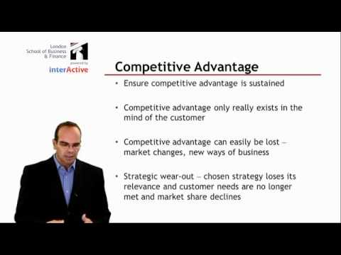 LSBF Global MBA - Lecture on Competitive Advantage