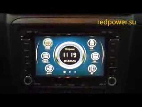 Штатные автомагнитолы Skoda Fabia, Octavia - Redpower 12004