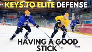MHH Hockey Tutorials: How to Have A Good Stick While Playing Defense