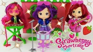 Куклы Шарлотта Земляничка Малинка Сливка Распаковка игрушек для девочек Strawberry Shortcake Dolls