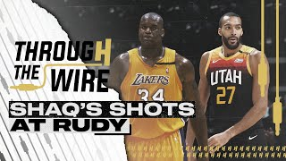 Shaq Takes Shots at Rudy Gobert | Through The Wire Podcast