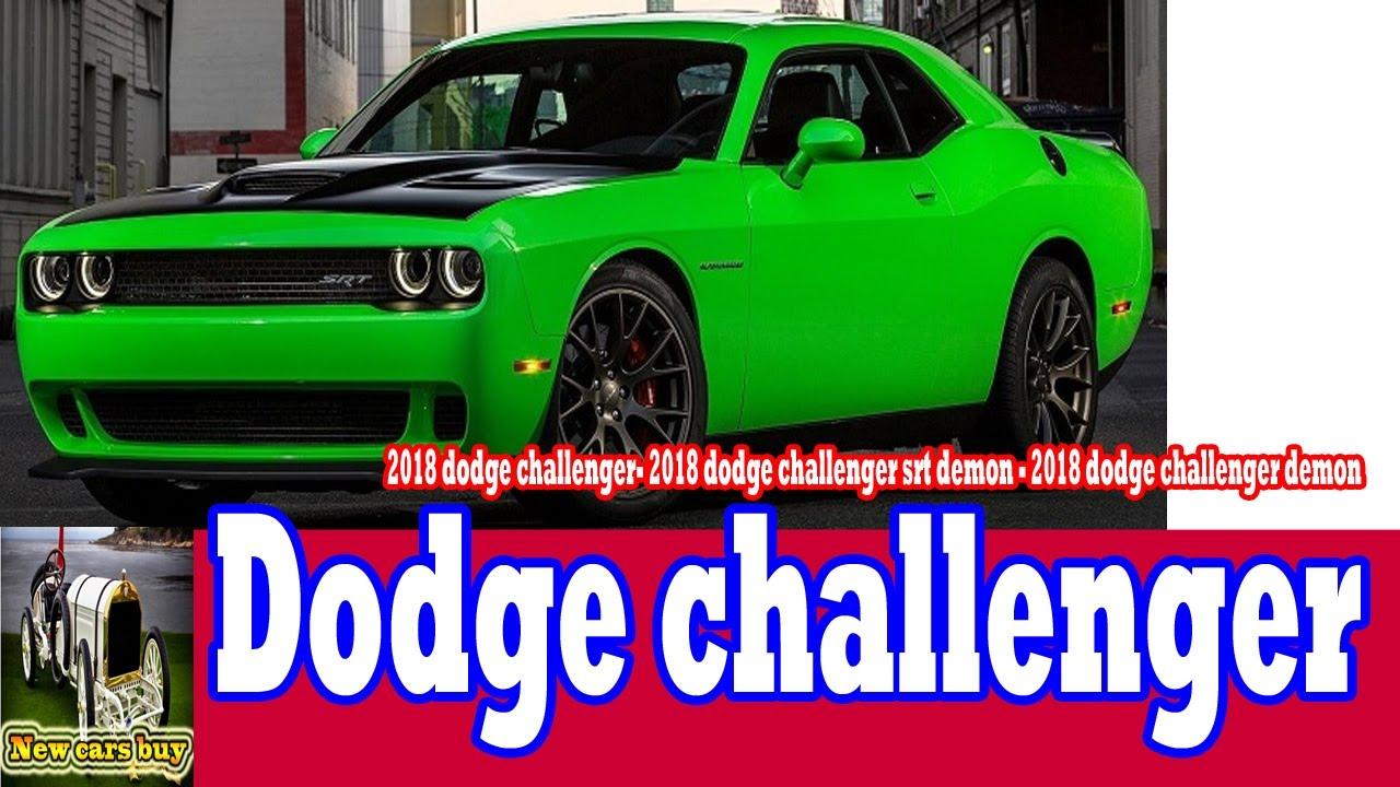 2018 dodge green. simple 2018 2018 dodge challenger challenger srt demon   new cars buy for green