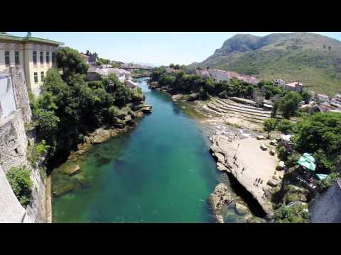 Mostar Bridge Jump, Bosnia and Herzegovina
