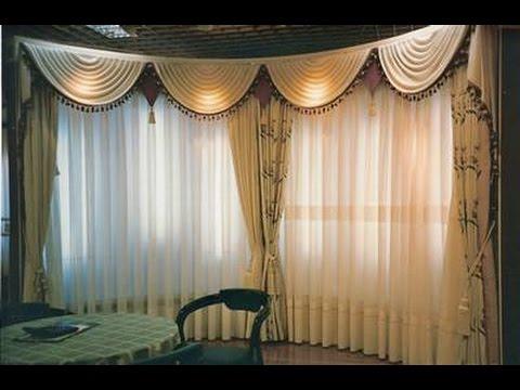 Como hacer una cenefa cascada youtube - Como hacer cortinas para dormitorios paso a paso ...