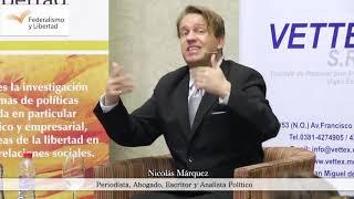"""Nicolás Márquez. Presentación del libro """"Perón, el fetiche de las masas"""""""