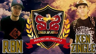 RBN (Med) vs Ken ZinGle (Ven) / Final - Final nacional Dragones del Freestyle Colombia 2017