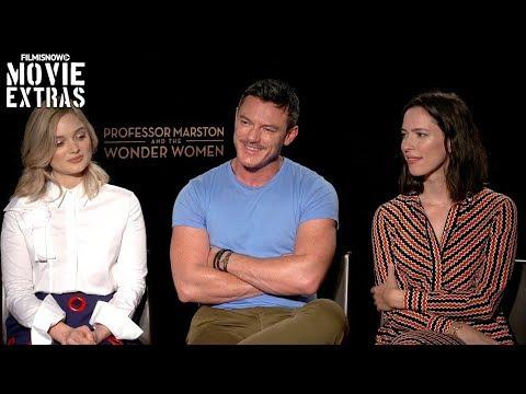 Professor Marston & The Wonder Women (2017) Luke Evans, Rebecca Hall & Bella Heathcote Interview