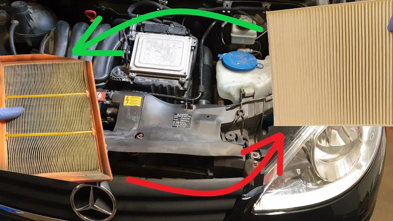 Mercedes-Benz A-Klasse W169 B-Klasse W245 BenzinerFilterset Filterkit Filter