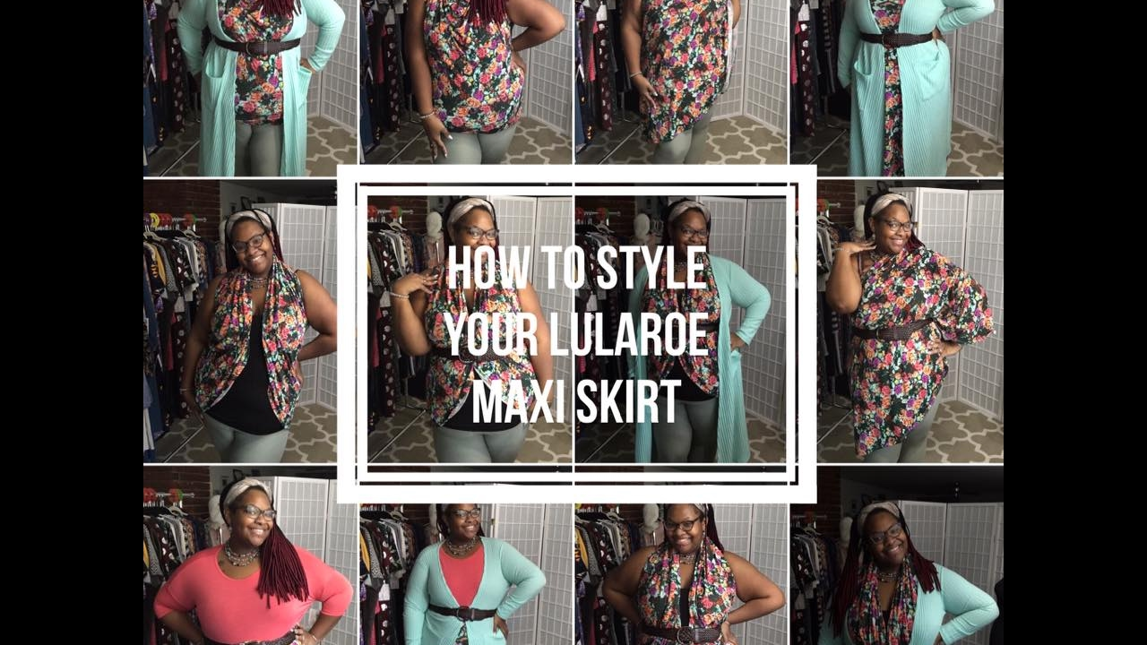 d2607751452 Different ways to style and wear your LulaRoe Maxi Skirt! - YouTube