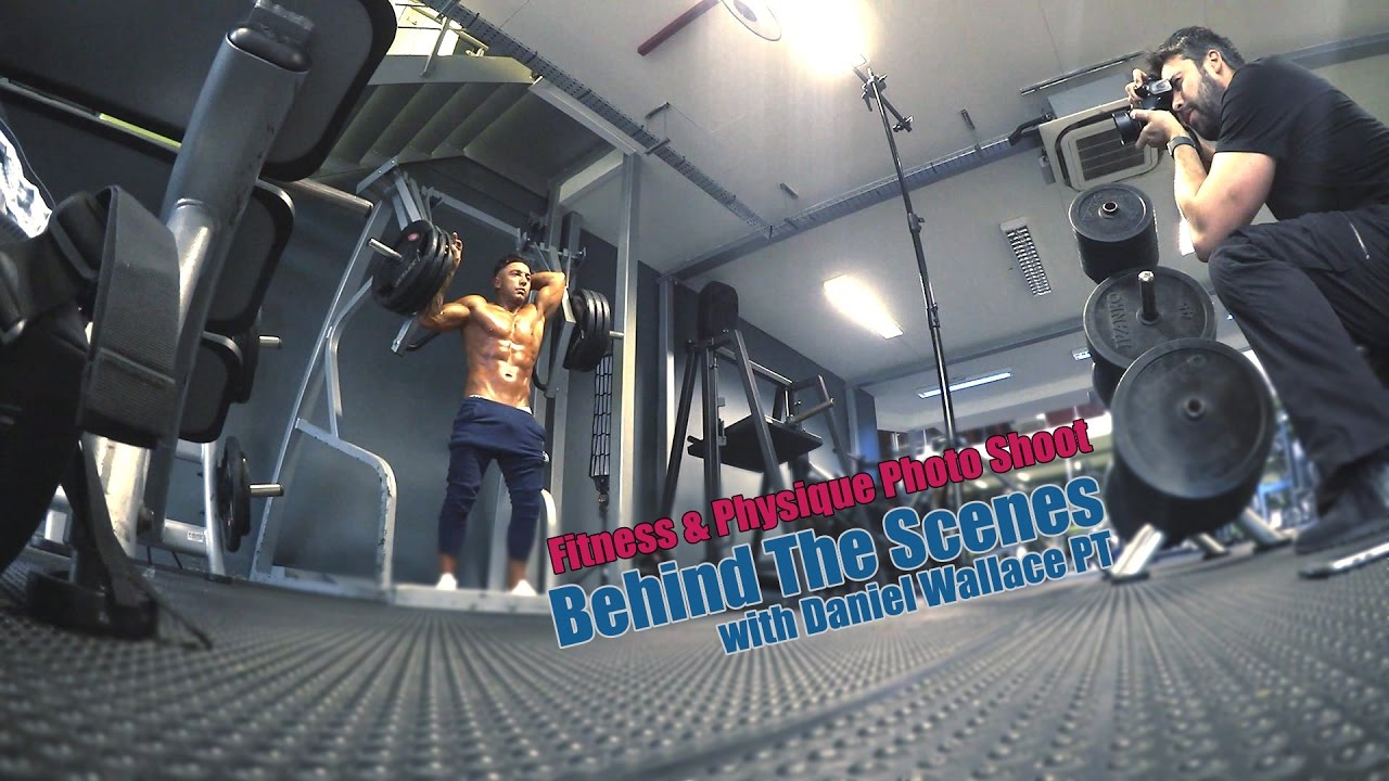 Behind the scenes gym photo shoot with sugarboxstudios youtube