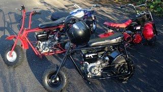 Mini bikers enjoying the sunny weather! - GoPro