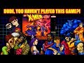 Dude, You Haven't Played This Game?! X-Men Mutant Apocalypse (SNES) Review