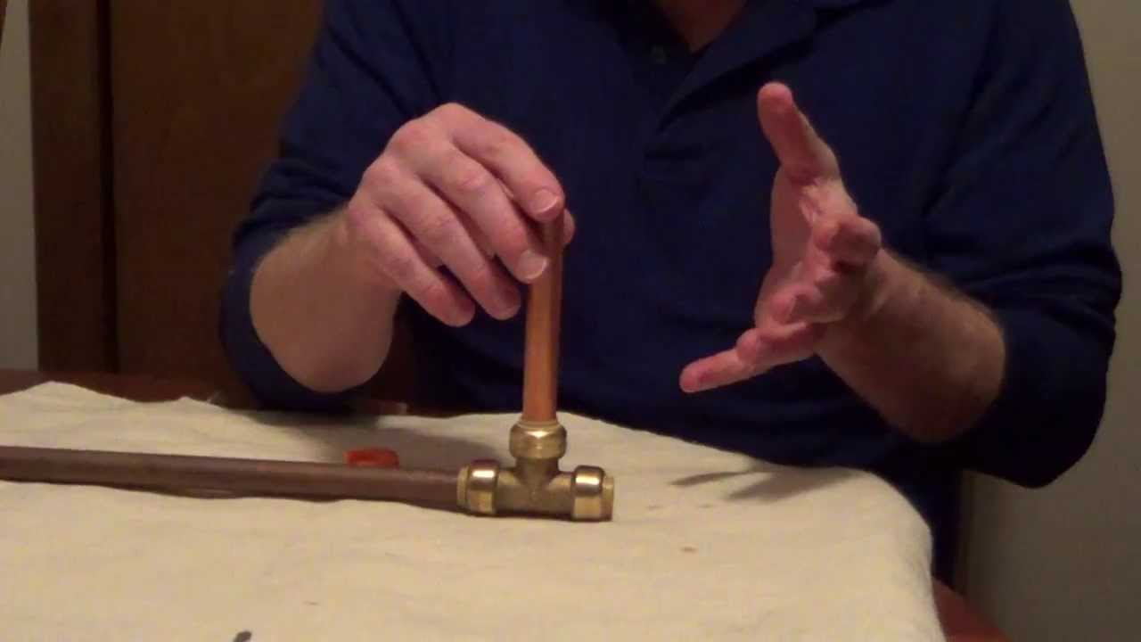 Connect Copper Pipe Without Solder Repair