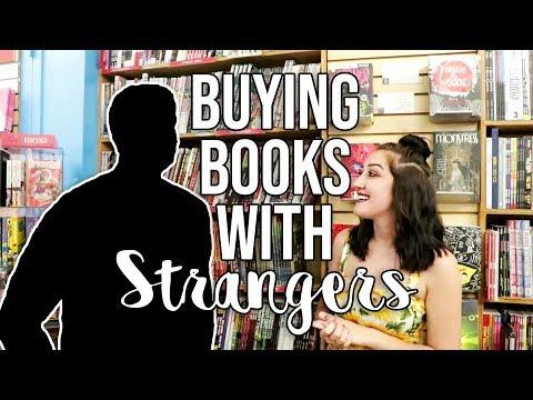STRANGERS PICK MY BOOK HAUL.