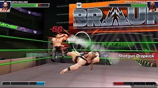 WWE Brown Strowman Vs Seth Rolince | WWE Mayhem Android Gameplay | IGN / Down to Top / GT Hindi