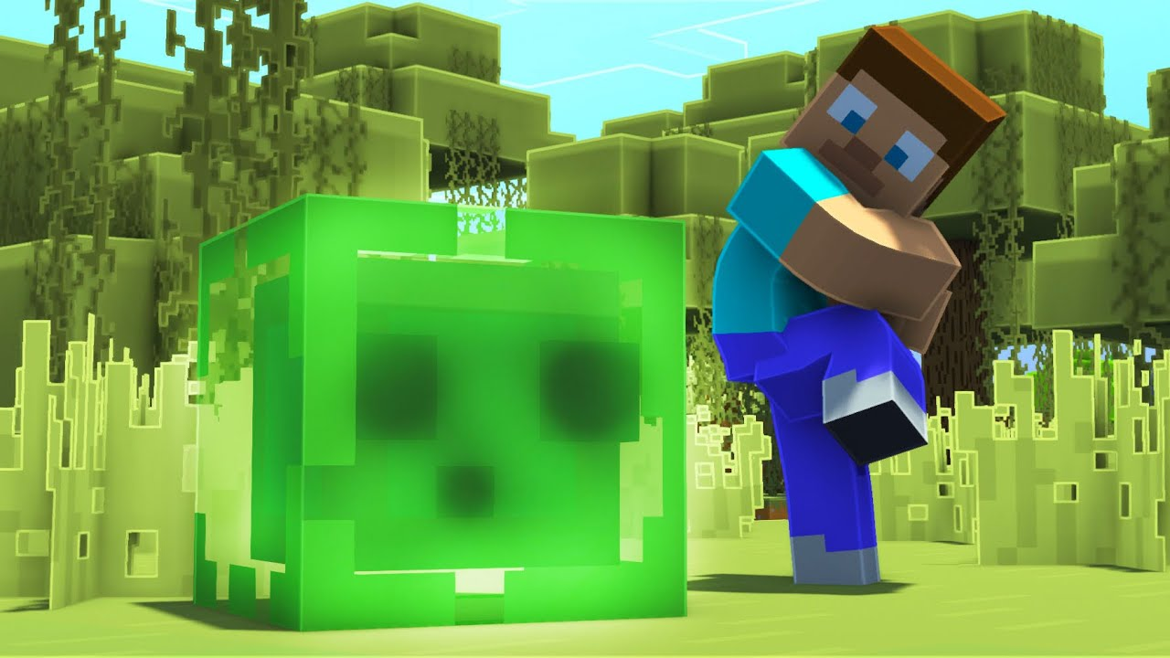 Don't Touch This Slime in Minecraft #shorts