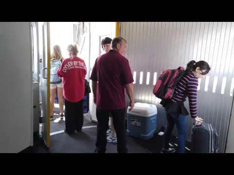 Boarding American Airlines CRJ-200 (MKE)
