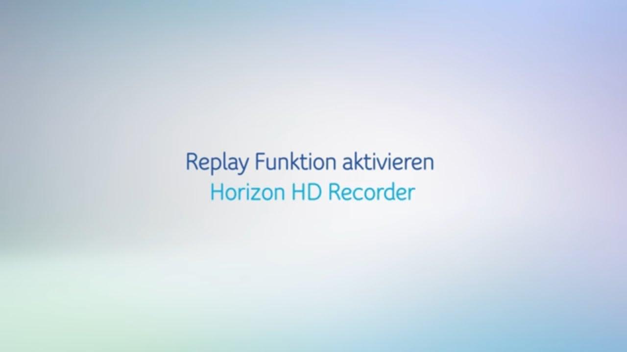 UPC Replay aktivieren (Anleitung)