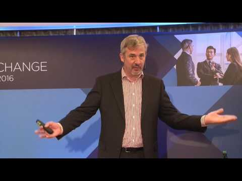 VMware Executive Exchange, Brian Gammage speech. 21st April 2016, Warsaw