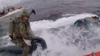 Ils arrêtent un sous-marin qui contenait 7 tonnes de cocaïne !