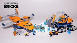 Lego City 60196 Arctic Supply Plane Speed Build