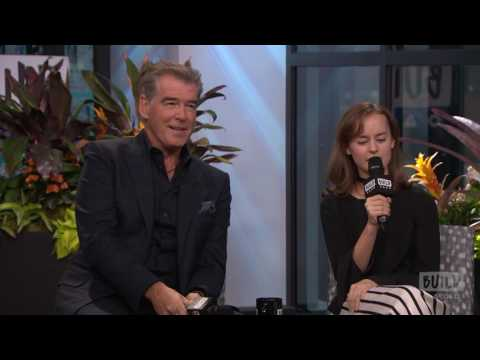 "Pierce Brosnan And Sydney Lucas On Working Together For The New AMC Series ""The Son"""