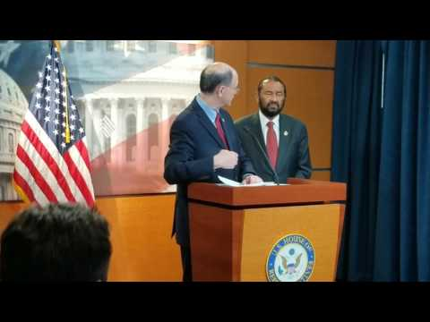 Congressman Sherman Discusses Submitting Articles of Impeachment
