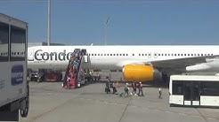 Condor Flug DE 1429 11.8.2017 Teneriffa -  Düsseldorf Flight DE1429 TRFS - DUS