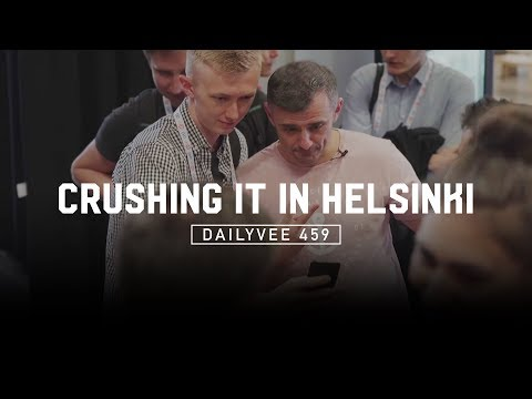 An Entrepreneur Takes Helsinki by Storm for a Day | DailyVee 459