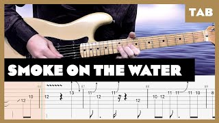 Smoke on the Water Deep Purple Cover | Guitar Tab | Lesson | Tutorial