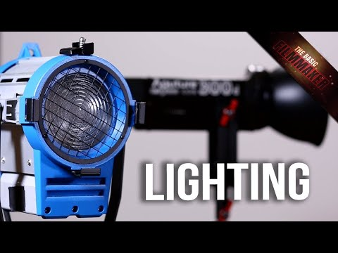 Basics of Lighting - What You Need To Know Before Buying - Basic Filmmaker Ep 229