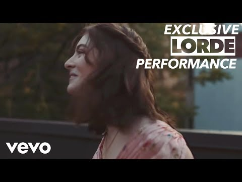Lorde - Hard Feelings / Loveless (Vevo x Lorde)