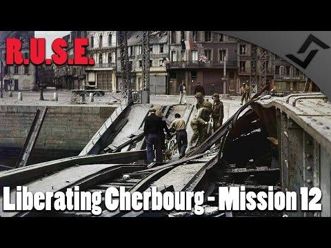 R.U.S.E. - Liberating Cherbourg - Mission 12