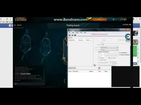 League Of Legends  RP - Cheatengine