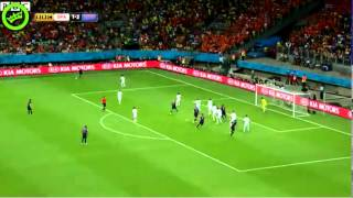 Holland vs Spain 5-1 ENGLISH COMMENTARY 06/13/2014 complete summary w. goals and highlights
