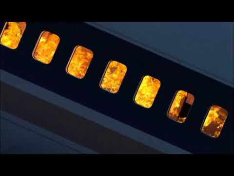 South African Airways Flight 295 - Crash Animation